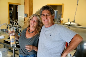 Monte and Stacy Sachs of Catskill Distilling Co.