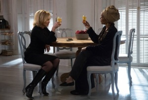 Fiona and Laveau toast victory with a French 75