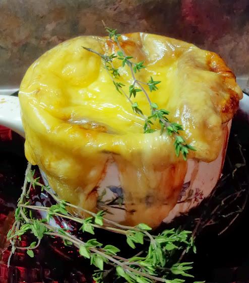 Perfect onion soup