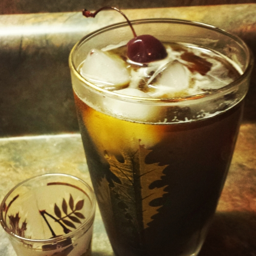 A cold brew cocktail perfect for before or after dinner