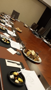 Let us transform your boardroom into a beautiful tasting space, or host in a cozy wine bar!